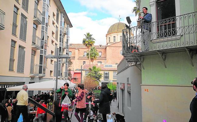 Cánticos de Pascua para llenar de vida las calles del centro de Lorca