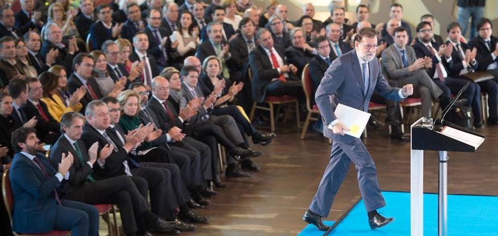 Rajoy anuncia en Murcia la puesta en marcha del Arco Noroeste