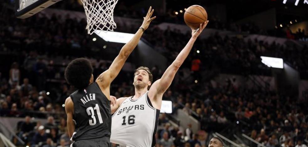 Mirotic y Gasol muestran liderazgo en los triunfos de Bulls y Spurs