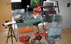 Nueve jóvenes detenidos por cometer robos y traficar con drogas en San Pedro