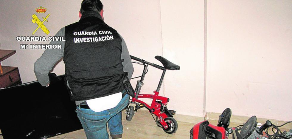 Desmantelan una banda juvenil dedicada a robar y vender droga