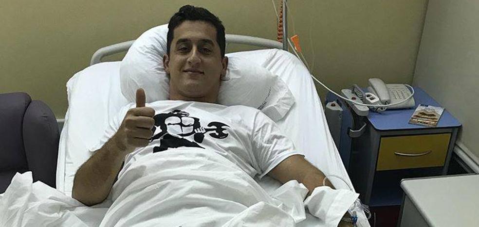 Nico Almagro vuelve a pasar por el quirófano y se perderá el inicio de la temporada