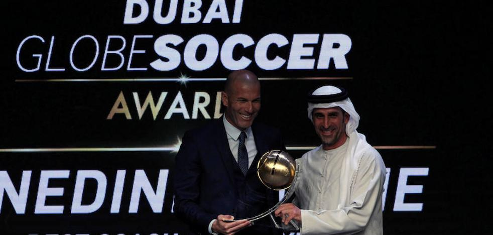 El Real Madrid arrasa en los 'Globe Soccer Awards'