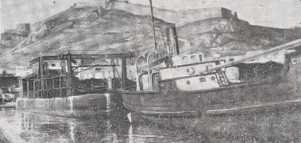 El naufragio del 'Choncholita'