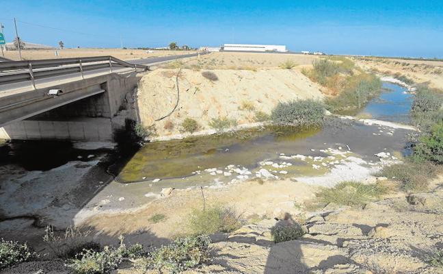 El filtro verde de la rambla del Albujón se reduce finalmente a nueve hectáreas