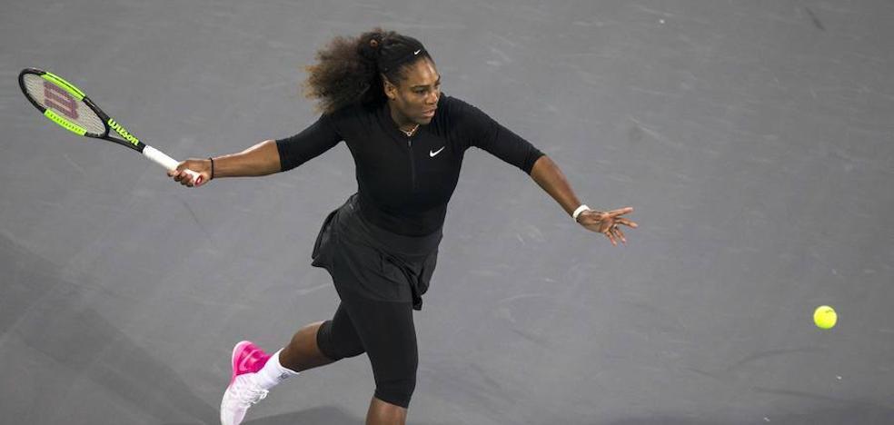 Serena Williams pierde en Abu Dabi en su regreso tras su maternidad