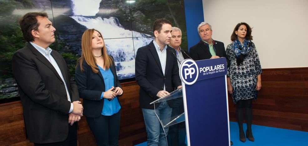 García resalta que el PP impulsó este año en el Congreso 200 medidas