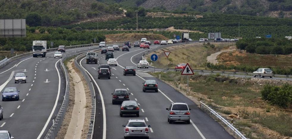 Fomento aprueba el proyecto del tercer carril de la autovía A-7 entre Orihuela y Monteagudo