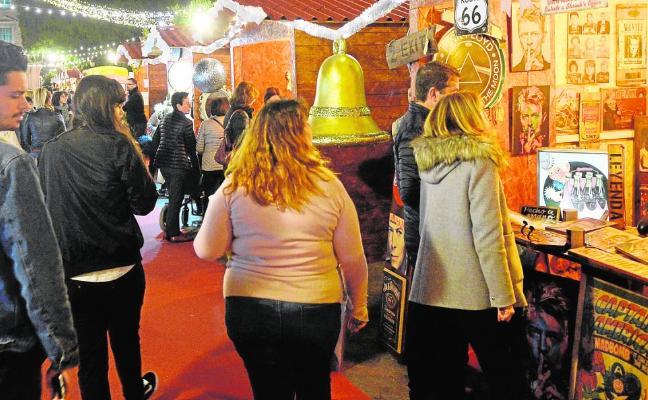 Últimos días del mercado navideño de La Glorieta