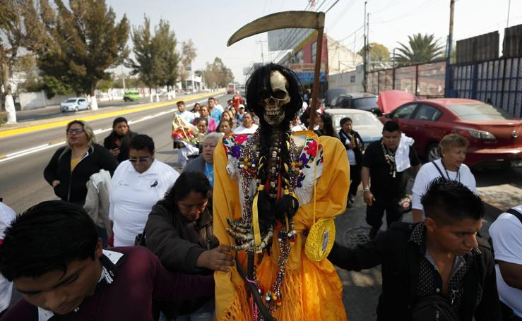 Culto a la Santa Muerte