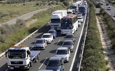 El BOE publica el proyecto de tercer carril de la A-7 entre Alhama y Alcantarilla
