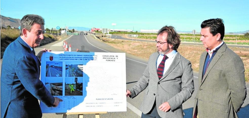 Plan para mejorar las vías rápidas hacia el Mar Menor y La Manga