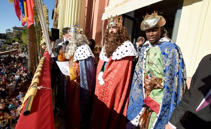 Los Reyes Magos ya están en Murcia