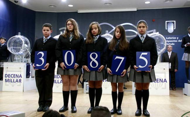 El número 0 se proclama como terminación favorita en el Sorteo del Niño