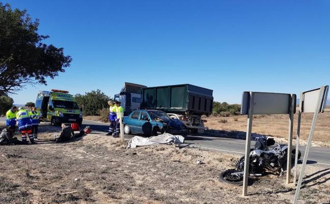 Un motorista fallece tras chocar con un coche en Fuente Álamo