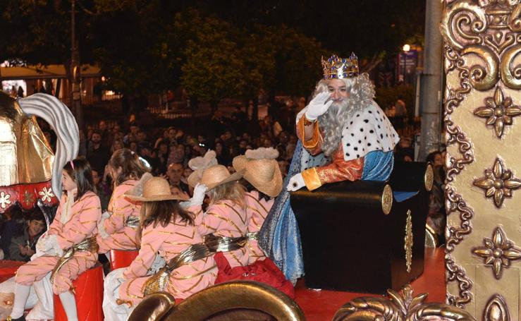 Cabalgata de los Reyes Magos en Murcia