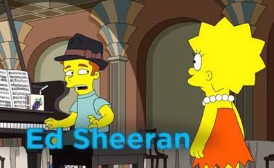 Ed Sheeran hará un cameo en Los Simpson
