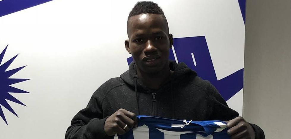 Aly Mallé, primer refuerzo invernal del Lorca FC