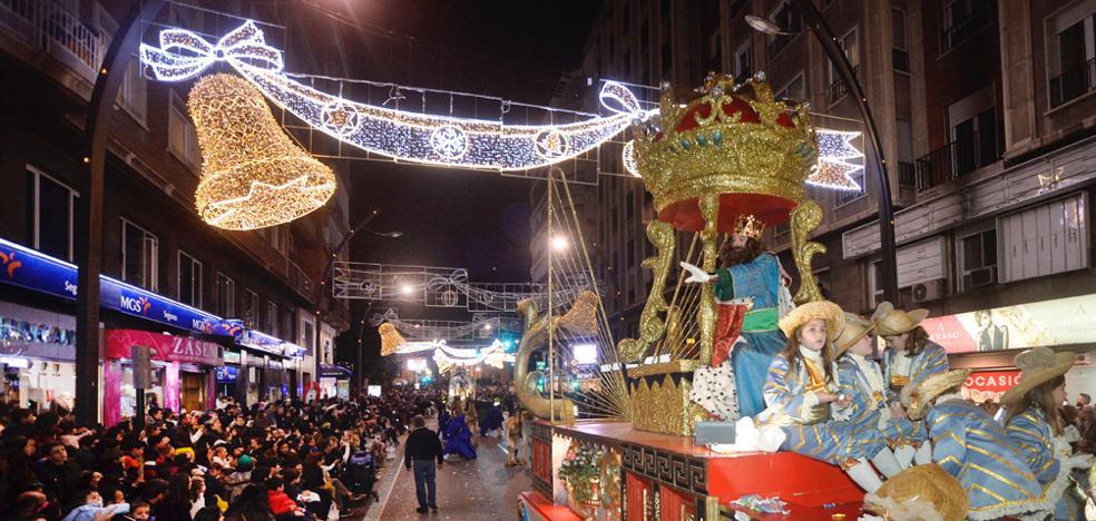Apoteosis en Murcia con los Magos de Oriente