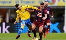 El Eibar remonta en cinco minutos y se lleva los tres puntos