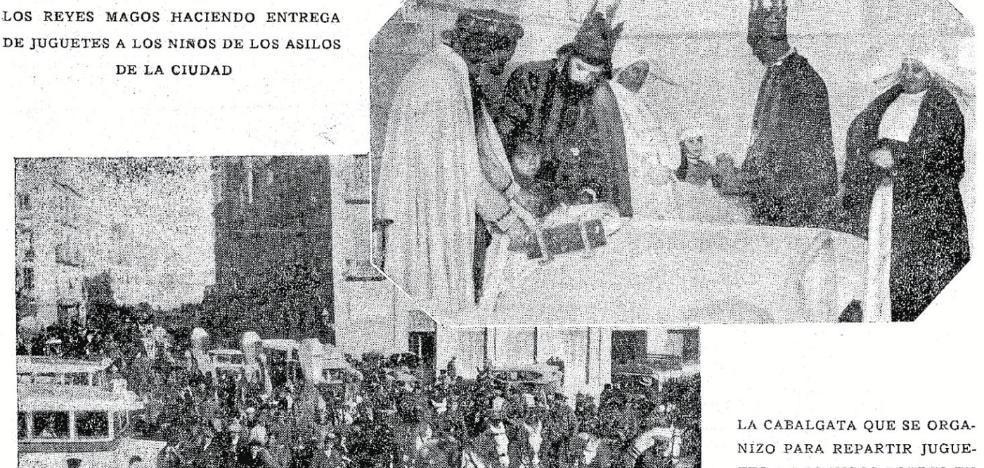 ¿La primera cabalgata de Reyes Magos en la historia de la ciudad?