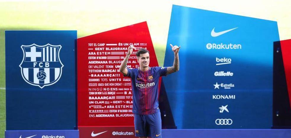 Coutinho convierte la presión «en un honor»