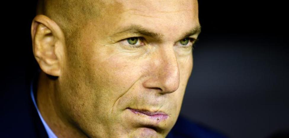 Zidane, en su peor momento