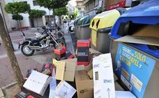 Los servicios de limpieza recogen más de 105.000 kilos de cartón y papel tras las fiestas en Murcia