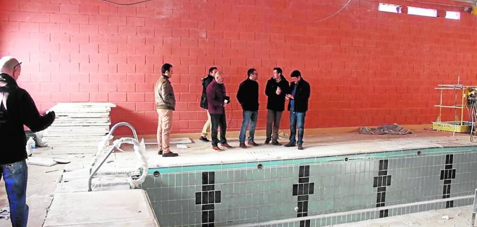Cehegín acaba las obras en la piscina cubierta a finales de mes
