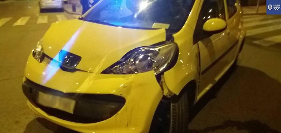 Detenido un conductor en Murcia sin seguro y triplicando la tasa de alcoholemia