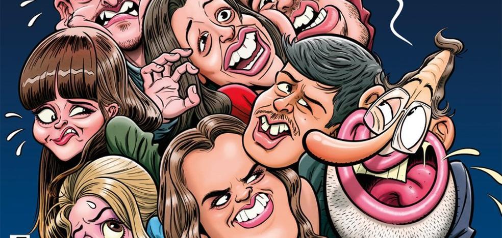 Críticas a 'El Jueves' por un detalle de su portada dedicada a Operación Triunfo