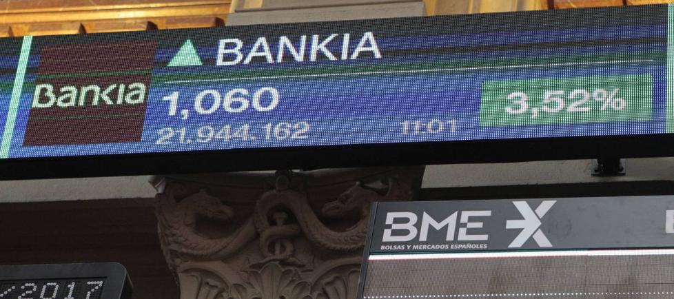 Los accionistas de BMN reciben los títulos de Bankia