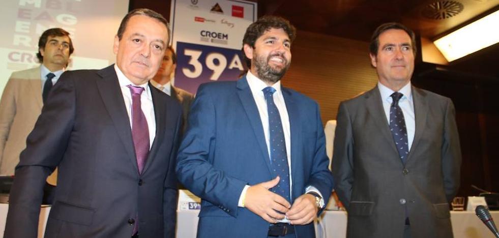 Croem valora «muy positivamente» las rebajas fiscales anunciadas por López Miras