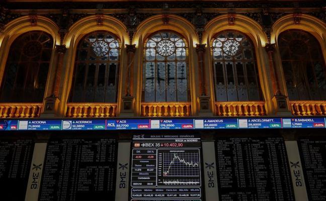 El Ibex cierra plano en una sesión marcada por el BCE