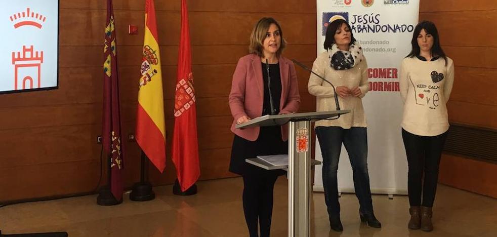 Cinco 'sin techo' de Murcia accederán a viviendas para conseguir la inserción social