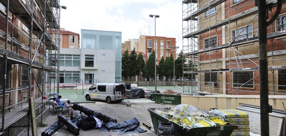 El instituto Alfonso X el Sabio prevé estrenar instalaciones en abril tras acabar la reforma