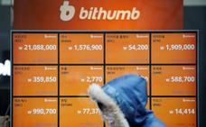 Bitcoin cae más del 10% por los planes de Seúl de prohibir las criptomonedas