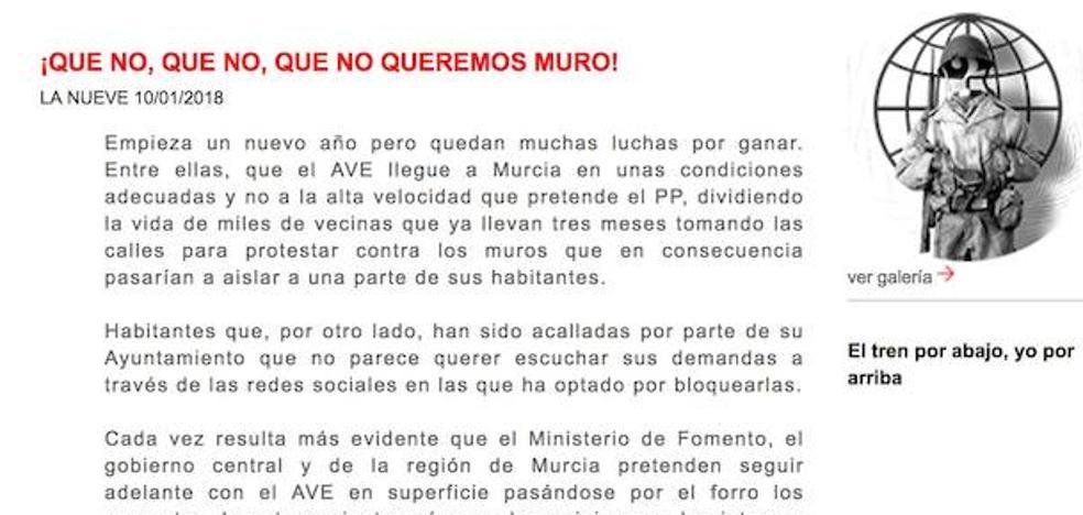 Hackean durante una hora la web de Murcia Alta Velocidad