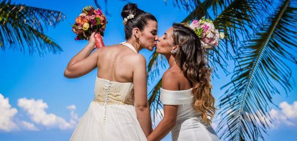 La audiencia celebra la primera boda lesbiana de 'Casados a primera vista'