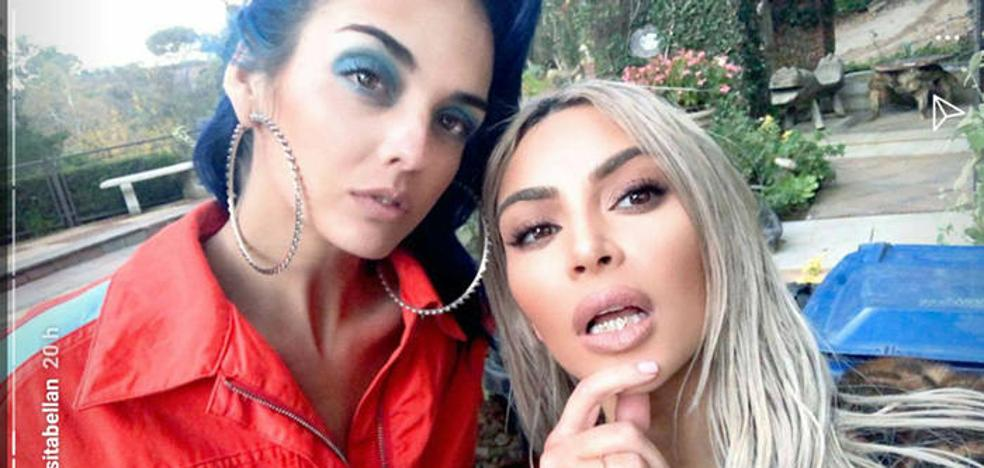 La murciana Sita Abellán ya se codea con Kim Kardashian