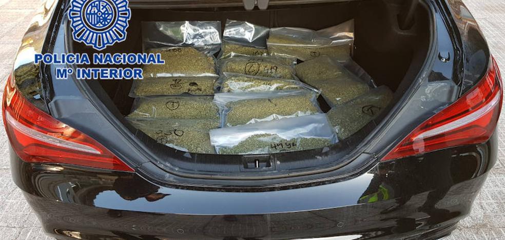 Cinco detenidos mientras realizaban la mudanza del cultivo de marihuana en Molina
