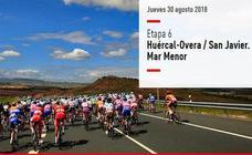 El Mar Menor, protagonista de La Vuelta a su paso por la Región de Murcia