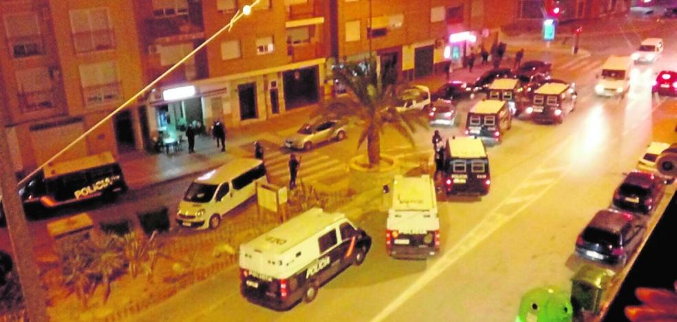 Detenidas dos personas en una redada contra la inmigración ilegal en Cieza