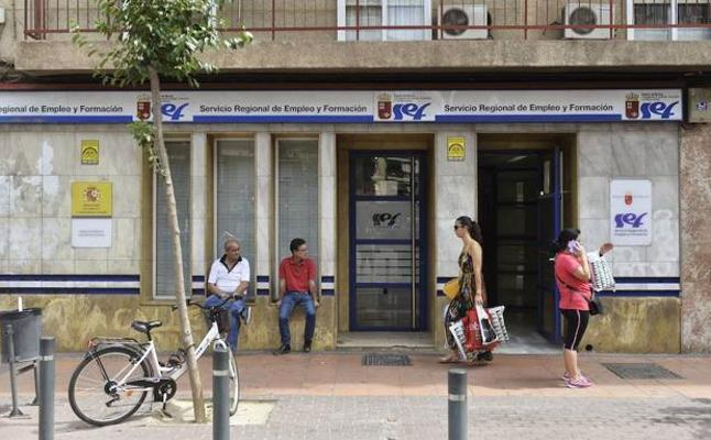 La ciudad de Murcia ya tiene los mismos parados que antes de que empezara la crisis
