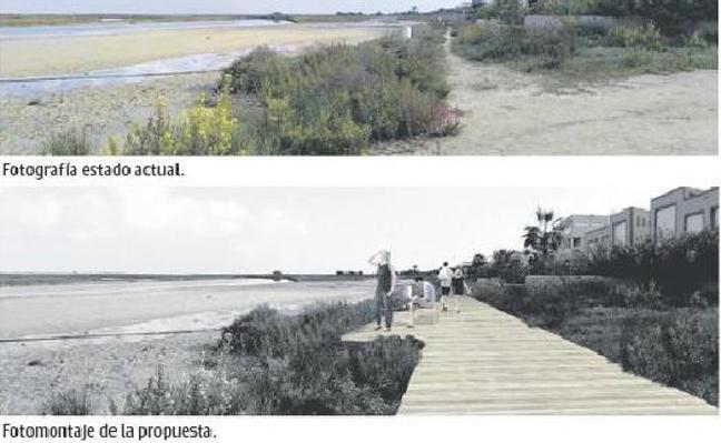 Un sendero ornitológico conectará el Mar Menor con el norte de La Manga