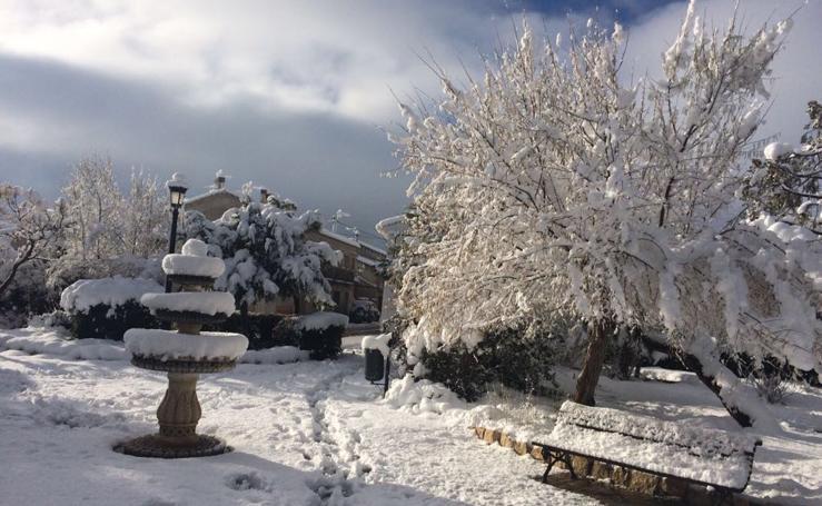 La nieve vuelve a cubrir la Región