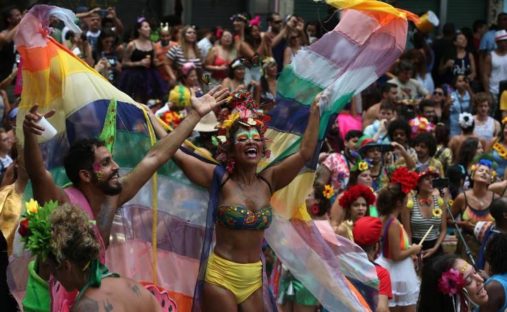 El carnaval ya se respira en Río de Janeiro