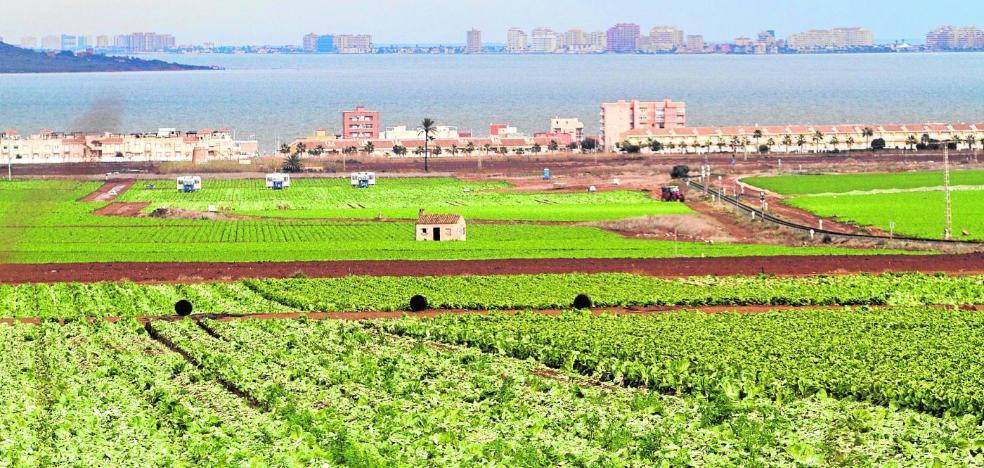 La ley del Mar Menor endurecerá las condiciones a los agricultores