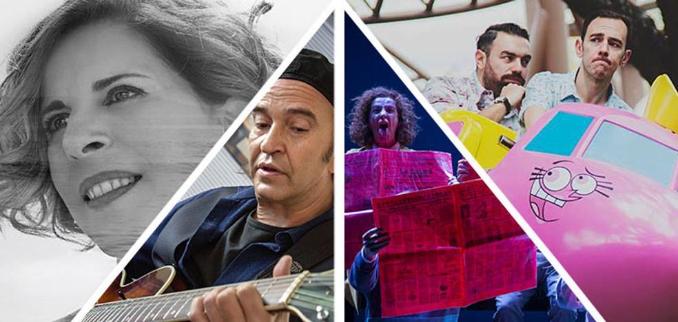 Música y comedia para el fin de semana