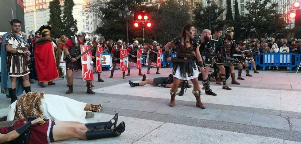 Tropas y Legiones toman Madrid